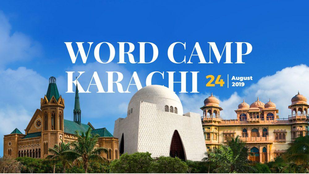 WordCamp Karachi – 24th August 2019